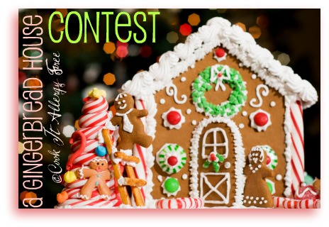 Gluten Free Gingerbread House Contest