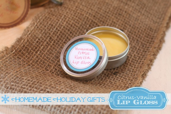 Homemade Organic Lip Gloss